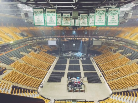 Boston TD Garden, Pitbull, August 12th, 2016