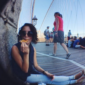 Brooklyn Bridge & everything bagels